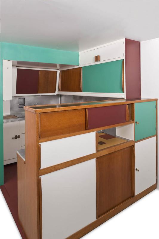 Cuisine bar de l unit d habitation de la cit radieuse de - Atelier de cuisine marseille ...